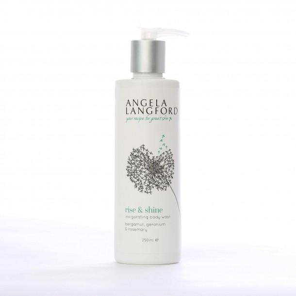 rise & shine body wash by angela langford skincare