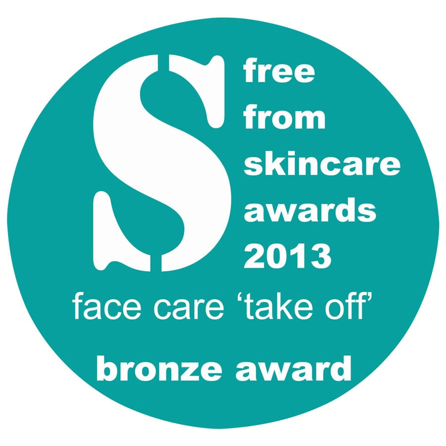 Angela Langford Skincare was awarded BRONZE in the 2013 Free From Beauty Awards