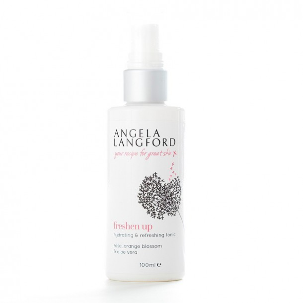 natural toner freshen up from Angela Langford Skincare
