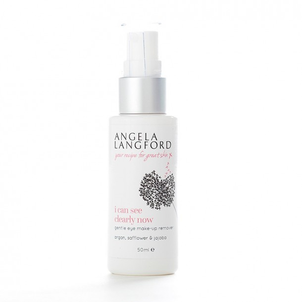 natural make-up remover i can see clearly now from Angela Langford Skincare