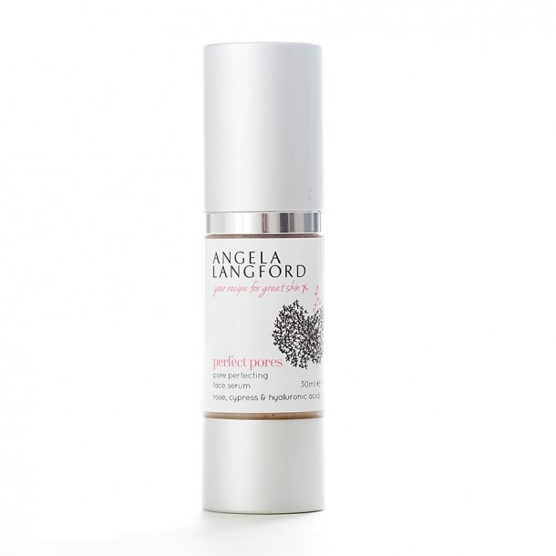 natural serum perfect pores from Angela Langford Skincare