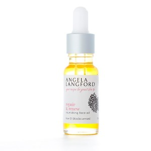 natural face oil repair and renew from Angela Langford Skincare
