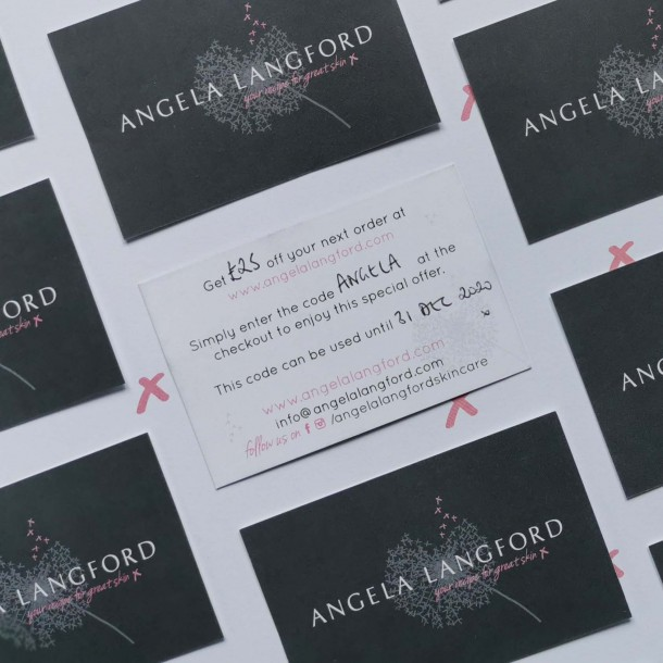 natural skincare gift vouchers from Angela Langford Skincare