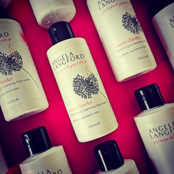 sweet cheeks balancing and cleansing facial wash by Angela Langford Skincare