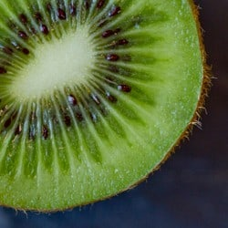 Natural skincare products with kiwi seed - Angela Langford Skincare
