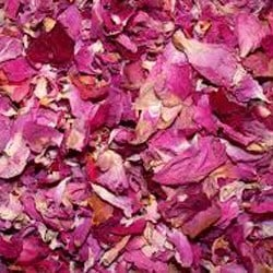 Natural skincare products with rose petals - Angela Langford Skincare
