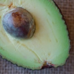 Natural skincare products with avocado - Angela Langford Skincare