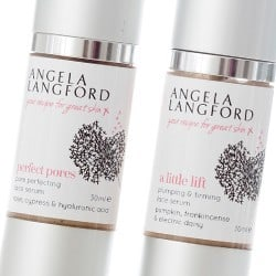 Natural Face Serums | Organic Facial Serums | Angela Langford Skincare