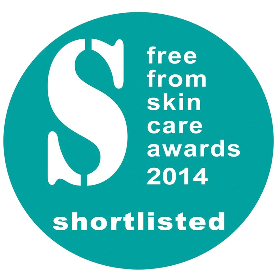 Angela Langford Skincare was COMMENDED in the 2014 Free From Beauty Awards