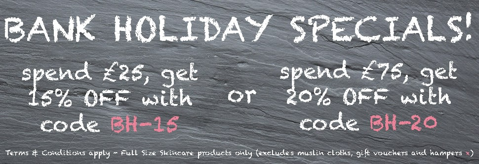 Bank Holiday Weekend Special at Angela Langford Skincare