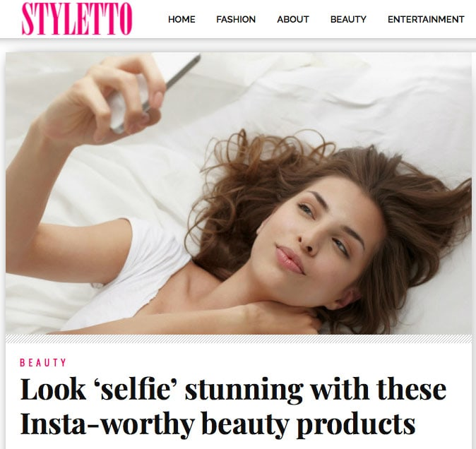 Styletto Magazine recommends natural night balm rest and regenerate