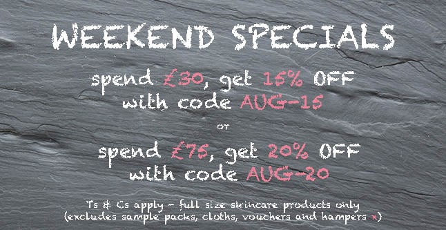 August Weekend Special with Angela Langford Skincare