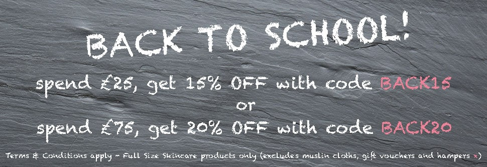 Back To School skincare specials with Angela Langford Skincare