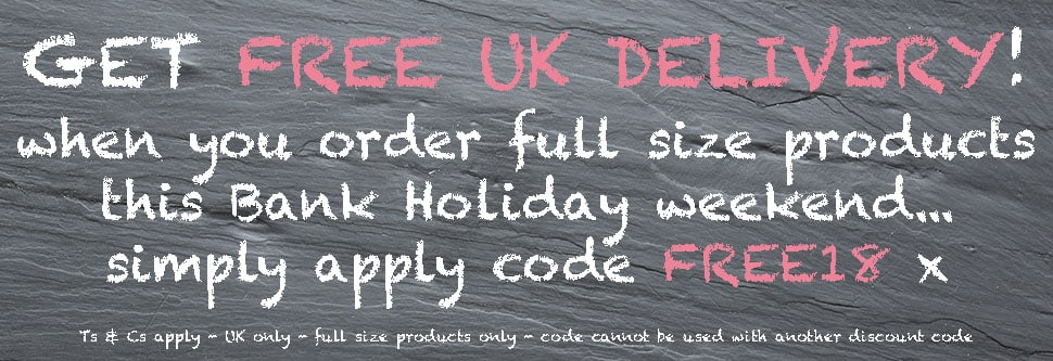 Free Delivery this Easter Weekend at Angela Langford Skincare