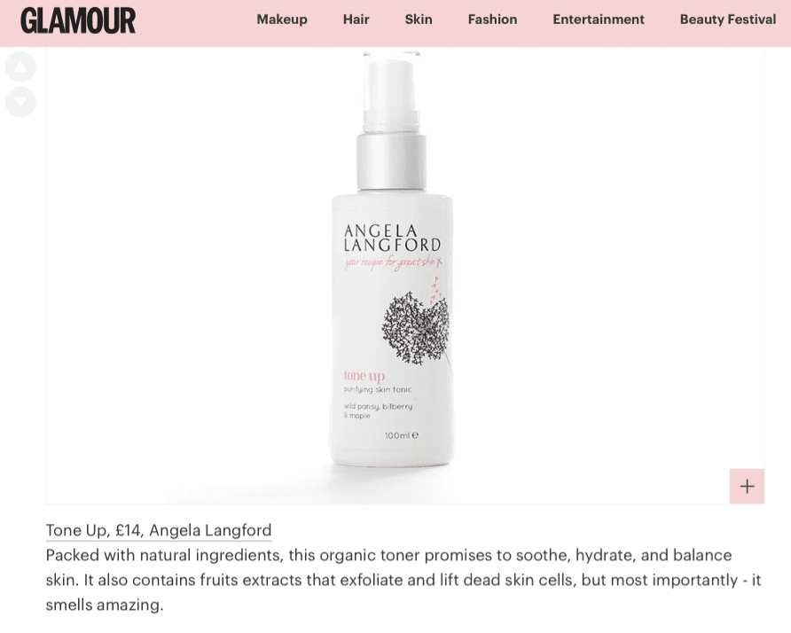 Psychologies loves Good Housekeeping Approved Face Oil Bloom & Glow by Angela Langford