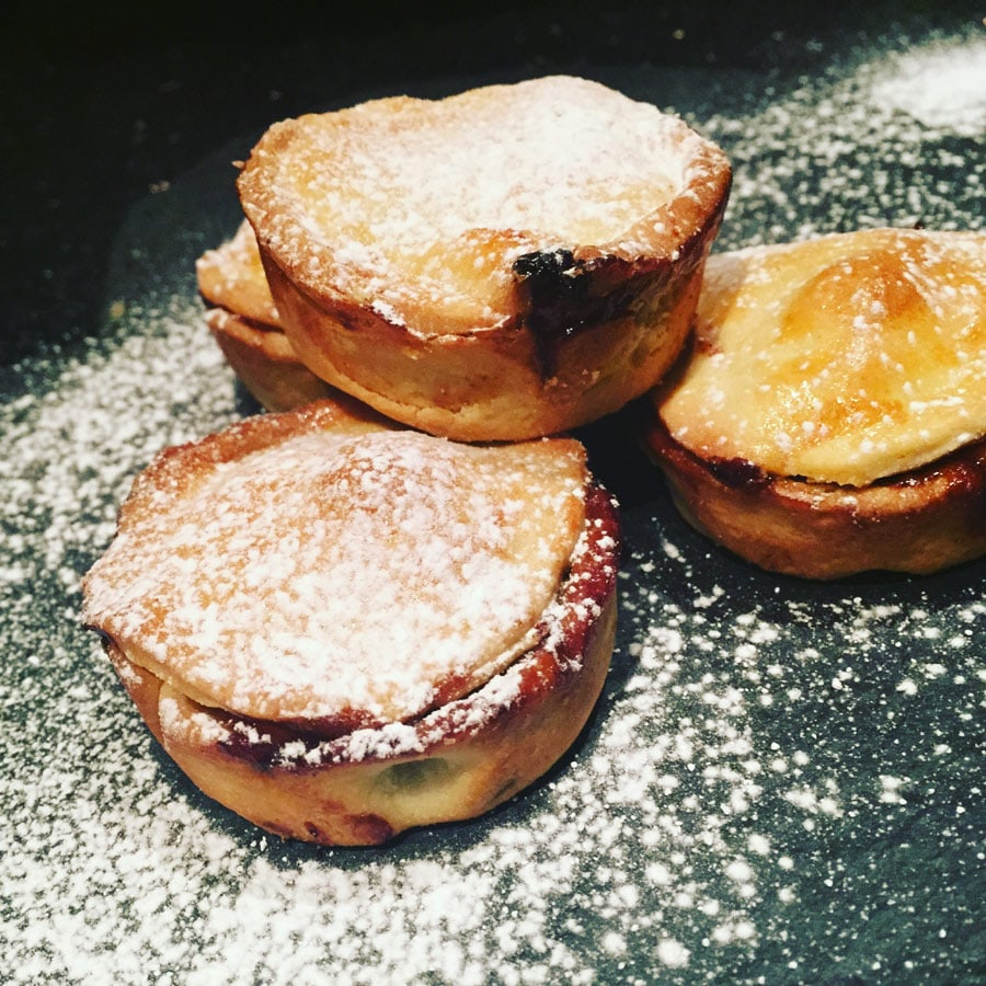 feast your mince pies on these - mince pie recipe by Angela Langford Skincare