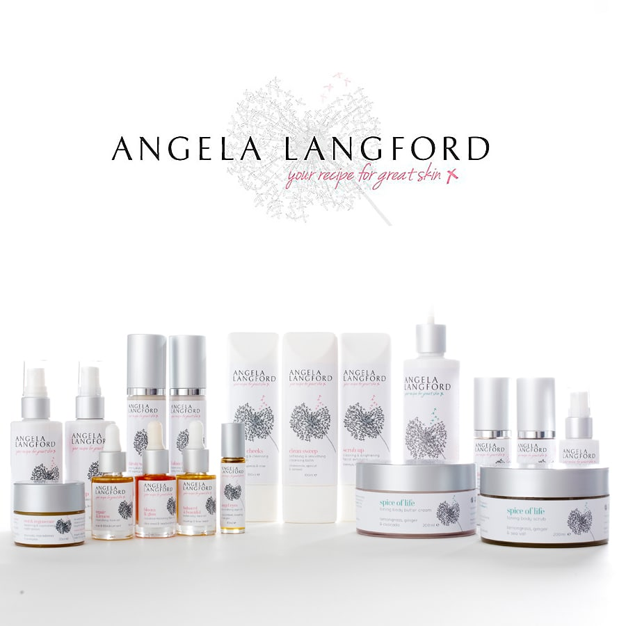 Skincare sample pack service, from Angela Langford Skincare
