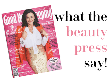 what the beauty press think about Angela Langford Skincare