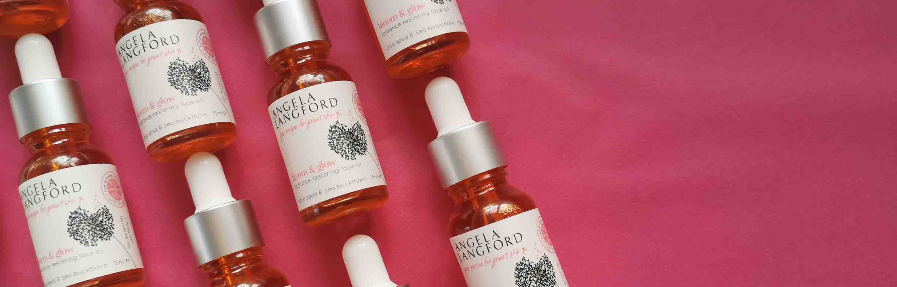 bloom & glow natural face oil named best facial oil by Good Housekeeping Institute